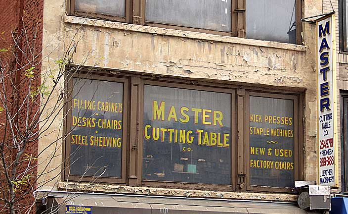 Master Cutting Table